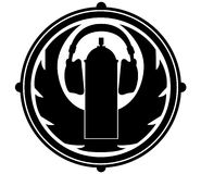 Logotipo simples Foto de Stock