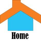 Logotipo simples para meu homestay Foto de Stock Royalty Free