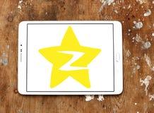 Logotipo social del sitio web del establecimiento de una red de Qzone Fotos de archivo libres de regalías