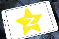 Logotipo social del sitio web del establecimiento de una red de Qzone Foto de archivo