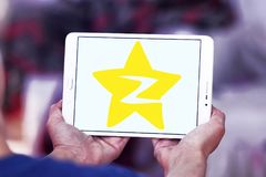 Logotipo social del sitio web del establecimiento de una red de Qzone Imágenes de archivo libres de regalías