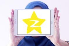Logotipo social del sitio web del establecimiento de una red de Qzone Imagen de archivo libre de regalías