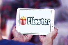 Logotipo social do local do filme de Flixster Imagens de Stock