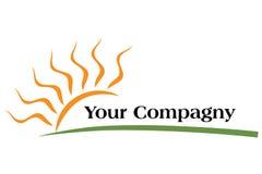 Logotipo Sun Imagens de Stock Royalty Free