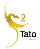 Logotipo Tattoo2 Imagem de Stock Royalty Free