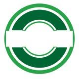 Logotipo verde Fotografía de archivo
