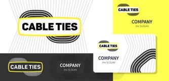 Logotipo y estilo corporativo Fotos de archivo libres de regalías