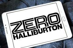 Logotipo zero da empresa de Halliburton Fotografia de Stock Royalty Free