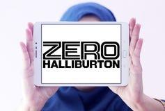 Logotipo zero da empresa de Halliburton Fotos de Stock