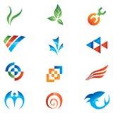 Logotipos Imagens de Stock Royalty Free