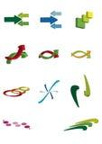 Logotipos Imagem de Stock