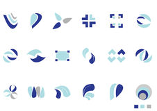 Logotipos Fotografia de Stock