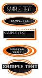 Logotipos. Imágenes de archivo libres de regalías