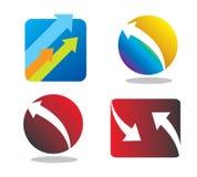 Logotipos Foto de Stock