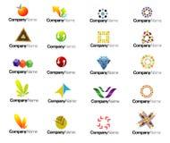 Logotipos Imagem de Stock Royalty Free