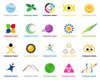 Logotipos Fotografia de Stock Royalty Free