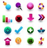 Logotipos Foto de Stock Royalty Free