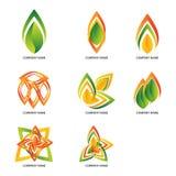 Logotipos abstractos Imagenes de archivo