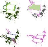 Logotipos abstratos Imagens de Stock Royalty Free