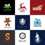 Logotipos animales Fotos de archivo libres de regalías