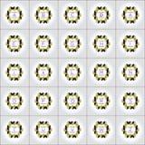 Logotipos cúbicos do formulário ajustados ilustração royalty free