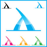 Logotipos corporativos do vetor Fotografia de Stock Royalty Free