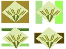Logotipos da agricultura Imagem de Stock