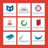 Logotipos da companhia Imagem de Stock Royalty Free