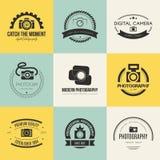 Logotipos da fotografia Imagens de Stock