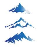 Logotipos da montanha ilustração do vetor