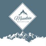 Logotipos da montanha Fotos de Stock