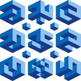 Logotipos de Borg Imagens de Stock