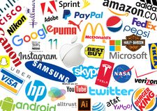 Logotipos de la marca del mundo