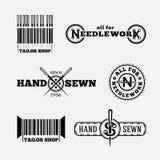 Logotipos del sastre Fotografía de archivo