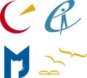 Logotipos do conceito (vetor) Fotos de Stock