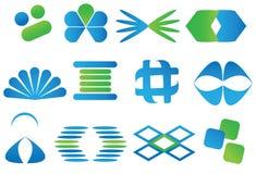 Logotipos do logotipo Foto de Stock Royalty Free