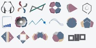 Logotipos do logotipo Fotografia de Stock Royalty Free