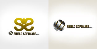 Logotipos do software Imagem de Stock