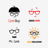 Logotipos do totó ilustração stock