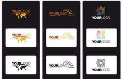 Logotipos do vetor Imagens de Stock