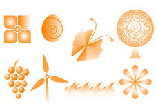 Logotipos do vetor Imagem de Stock Royalty Free