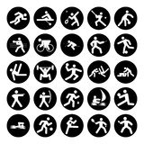 Logotipos dos esportes Foto de Stock