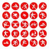 Logotipos dos esportes Imagem de Stock