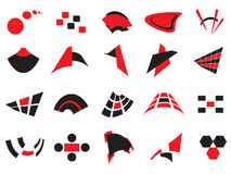 Logotipos e elementos do vetor Imagens de Stock