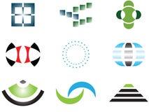 Logotipos e elementos do vetor Foto de Stock Royalty Free