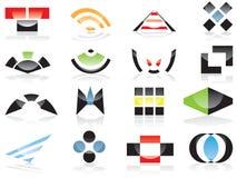Logotipos e elementos do vetor Fotos de Stock Royalty Free