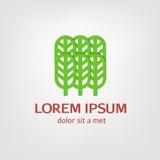 Logotipos, emblemas bosque, parque Fotos de archivo libres de regalías