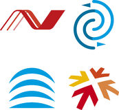 Logotipos Lineal (vetor) Fotografia de Stock