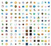 Logotipos modernos fotografia de stock royalty free