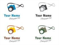 Logotipos ou ícones fotográficos das artes Foto de Stock Royalty Free